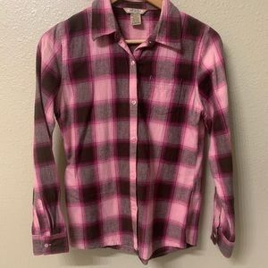 Beautiful pink flannel
